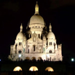 Sacre Coeur nocą Paryż